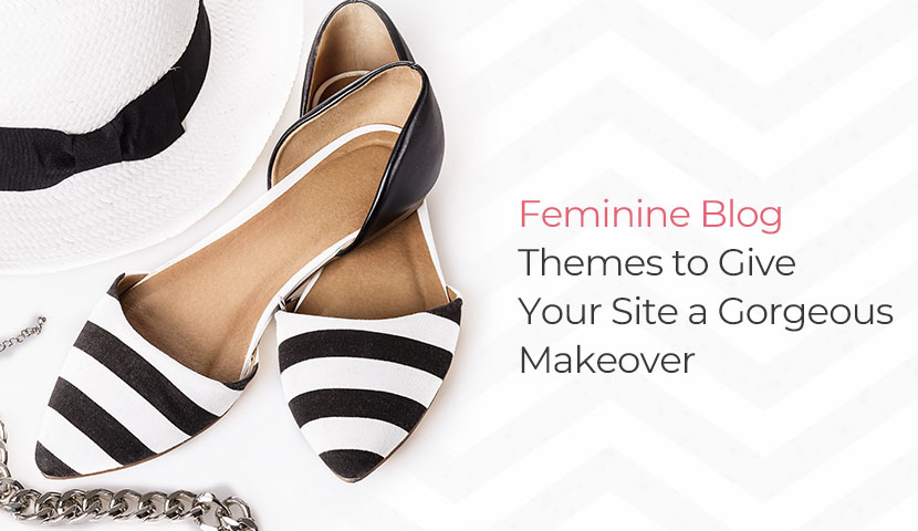 11 Feminine Blog Themes to Give Your Site a Makeover