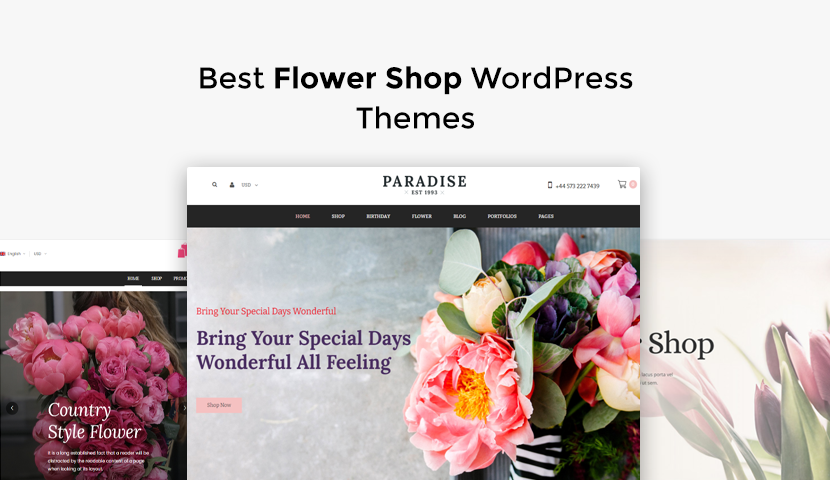 8 Best Flower Shop WordPress Themes