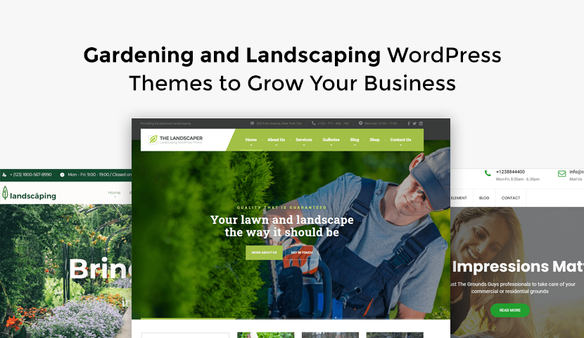 9 Gardening and Landscaping WordPress Themes to Grow Your Business