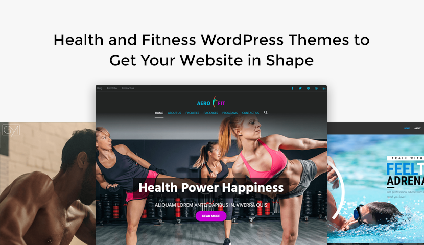 9 Health and Fitness WordPress Themes to Get Your Website in Shape
