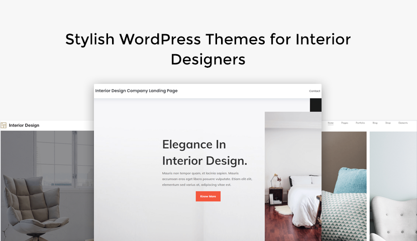 10 Stylish WordPress Themes for Interior Designers