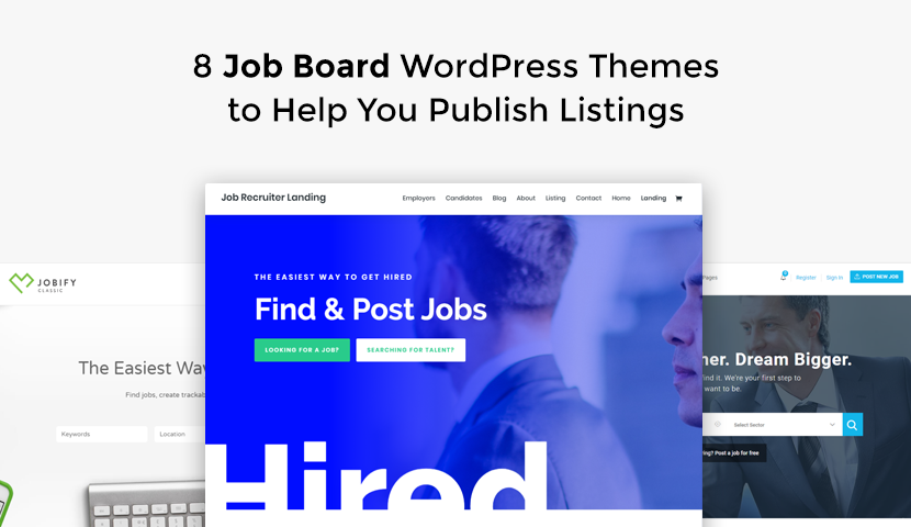 8 Job Board WordPress Themes to Help You Publish Listings