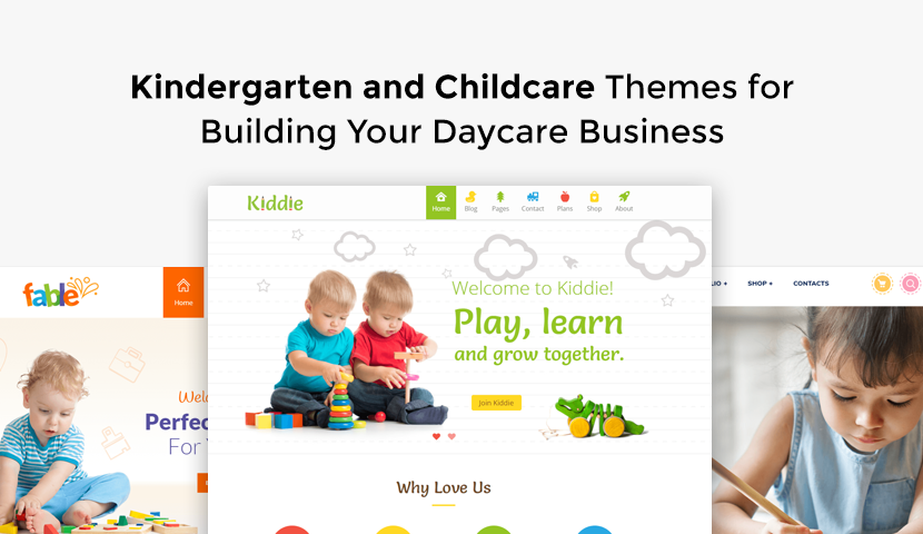 9 Kindergarten and Childcare Themes for Building Your Daycare Business