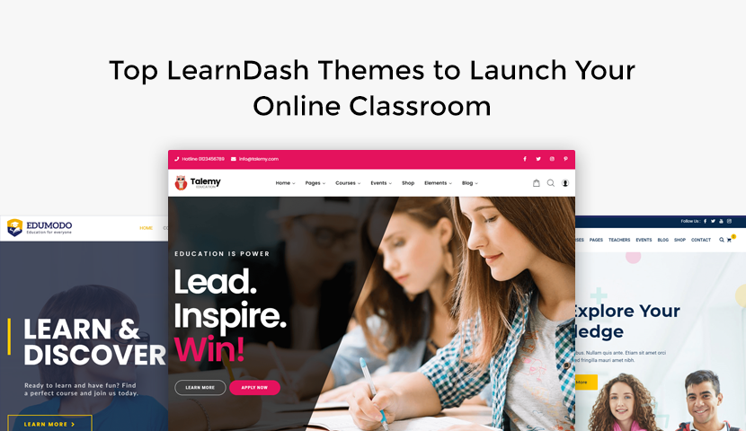 9 Top LearnDash Themes to Launch Your Online Classroom