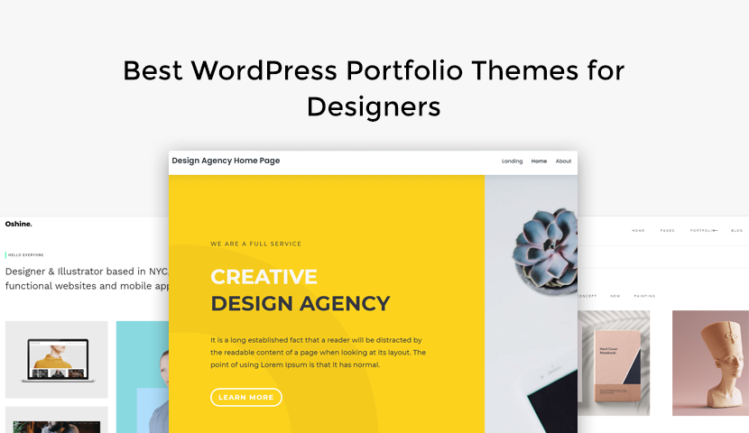 10 Best WordPress Portfolio Themes for Designers