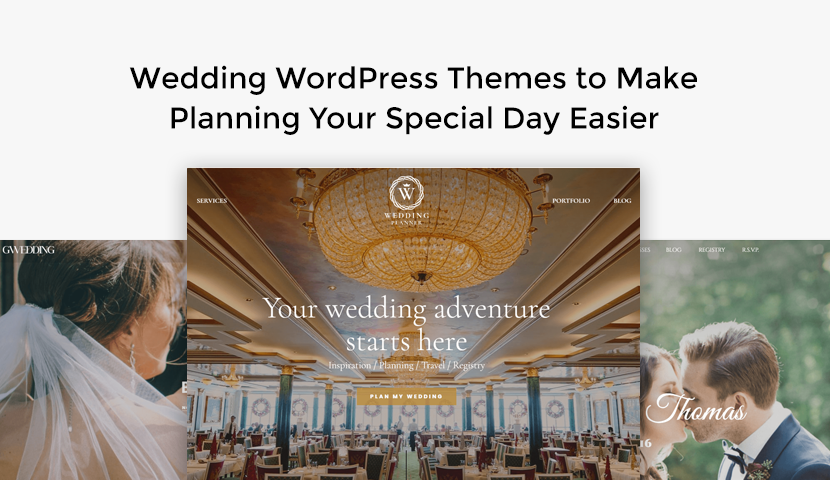 9 Wedding WordPress Themes to Make Planning Your Special Day Easier