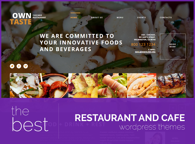 20 Best Restaurant WordPress Themes For Cafes, Pubs, Bakeries, Delis, And More