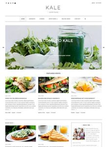 Kale Pro. A perfect food blog!