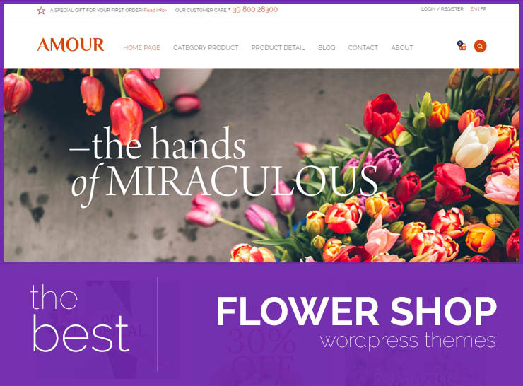 25 Gift and Flower Shop Themes For Florists, Brick and Mortar and Online Flower Shops