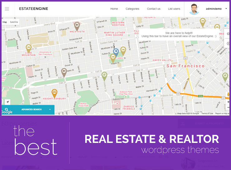 15+ Responsive Real Estate WordPress Themes for Agents, Realtors, Agencies, Property Directories and Listings