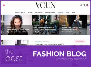 best fashion blog wordpress themes