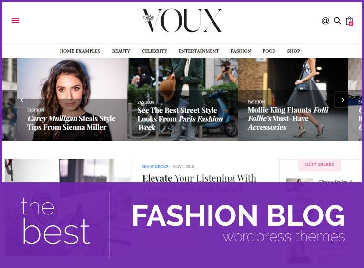15 Best Fashion Blog, Magazine, and Photography WordPress Themes