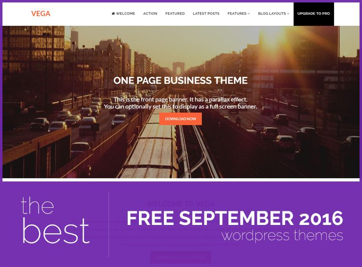 Best Free WordPress Themes of September 2016