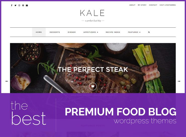 15 Best Food Blog WordPress Themes 2019