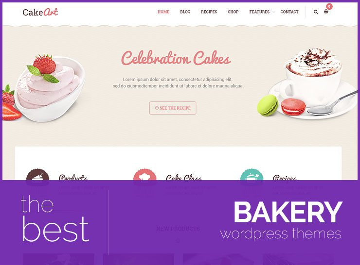 10+ Best WordPress Themes for Bakeries, Cafes, Delis and Coffee Shops 2017