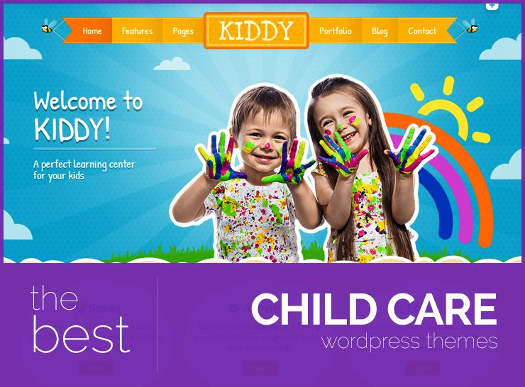10+ Best Kids WordPress Themes for Child Care and Day Care Centers, Nursery and Montessori Schools, Kindergarten, Schools and Much More