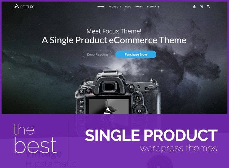 Single Product WordPress Themes for Small Shops, Product Showcase, Landing Pages
