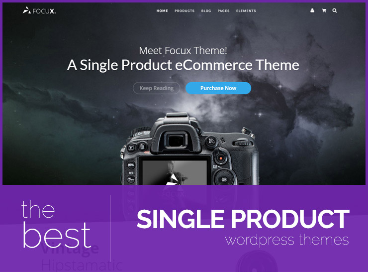 Best WordPress Single Product Themes for Small Shops 2017