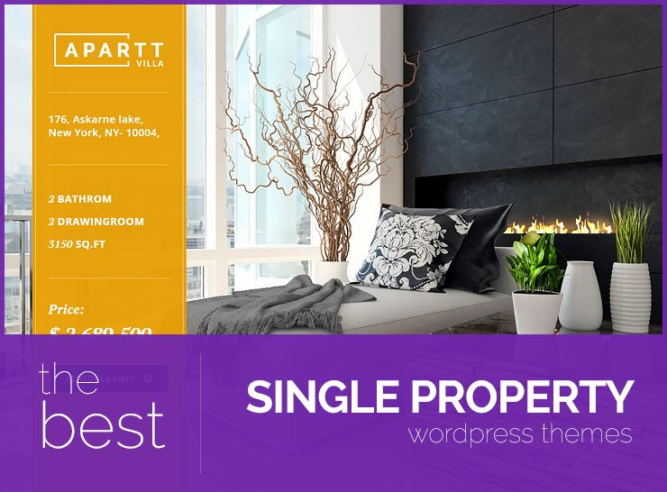 10+ Best Single Property WordPress Themes to Sell Properties, Showcase Rental Properties, Real Estate, Apartment Complexes