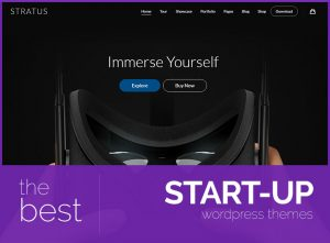 best startup wordpress themes