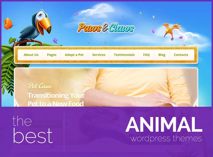 10+ Animal WordPress Themes for Pet Stores, Vets, and Animal