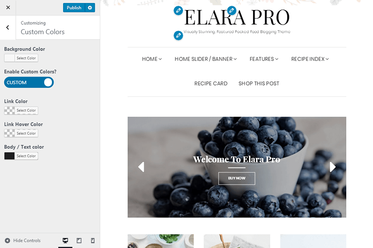 Elara Pro - Custom Colors