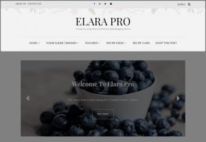 Elara Pro - Header