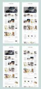 Elara Pro - Homepages