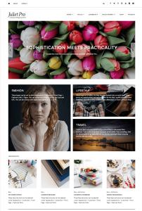 Juliet Pro WordPress Theme