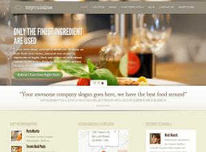 WordPress Recipe Themes – MyCuisine by Elegant Themes